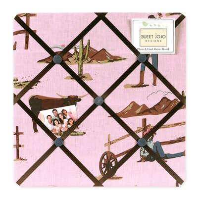 Sweet Jojo Designs Cowgirl Collection Memo Board