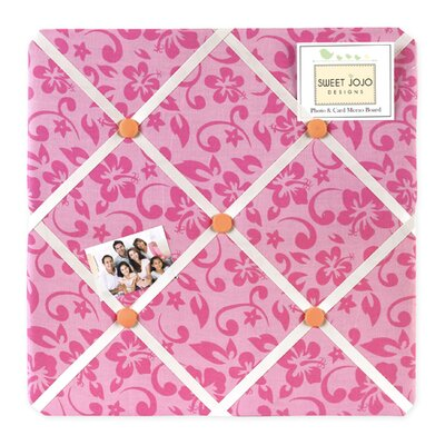 Sweet Jojo Designs Surf Pink Collection Memo Board
