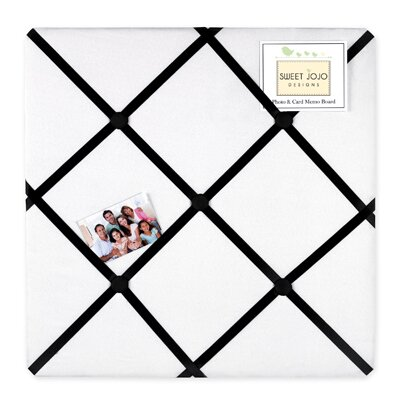 Princess Black and White Collection Memo Board