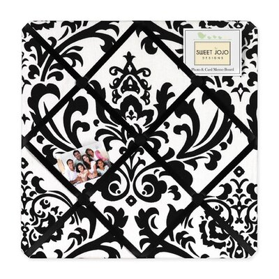 Sweet Jojo Designs Isabella Black and White Collection Memo Board