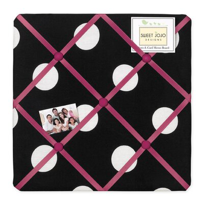 Sweet Jojo Designs Hot Dot Collection Memo Board
