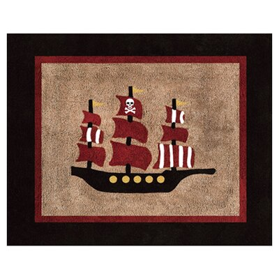 <strong>Sweet Jojo Designs</strong> Pirate Treasure Cove Collection Floor Rug