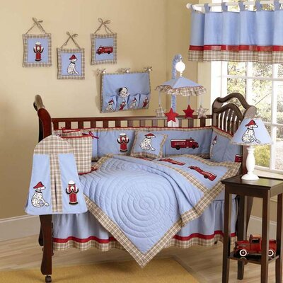Sweet Jojo Designs Fire Truck Crib Bedding Collection