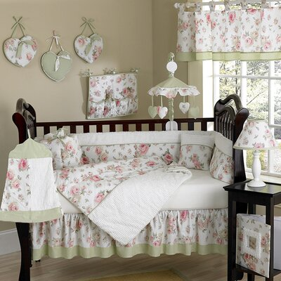 Sweet Jojo Designs Riley's Roses Crib Bedding Collection