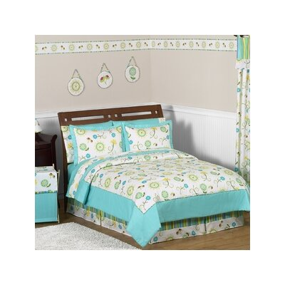 Layla Collection 4pc Twin Bedding Set