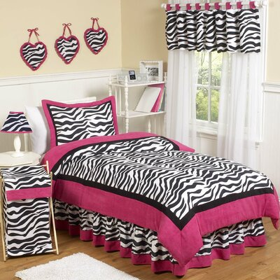 Sweet Jojo Designs Zebra Pink Funky Kid Bedding Collection