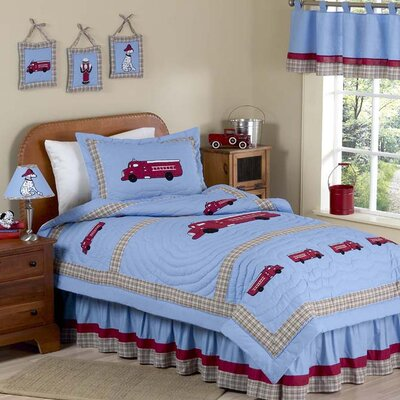 Firetruck Frankie's Kid Bedding Collection