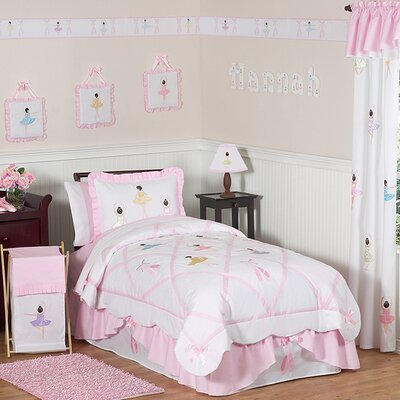 Sweet Jojo Designs Ballerina Kid Bedding Collection