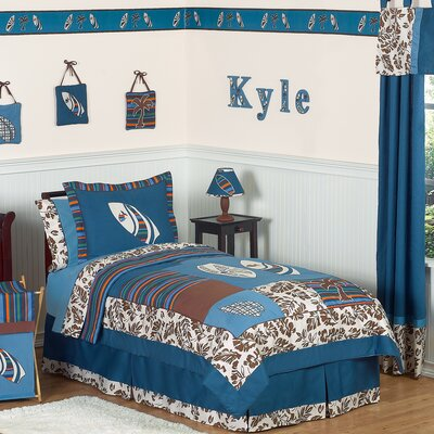 Sweet Jojo Designs Surf Blue Kids Bedding Collection