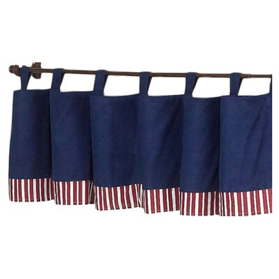 "Sweet Jojo Designs Vintage Aviator 84"" Curtain Valance"