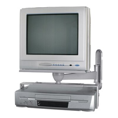 "Eco-Mount by AVF CRT TV Wall Mount with VCR / DVD Holder (13 - 21"" Screens)"
