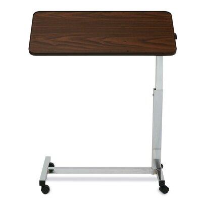 Medline Tilt-Top Overbed Walnut Table