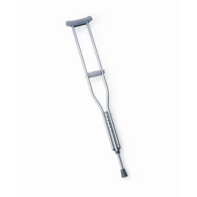 Medline Push Button Crutches