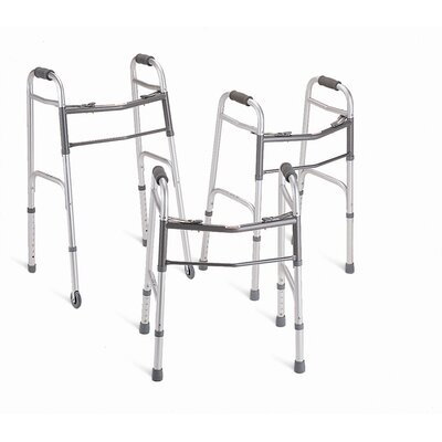 Medline Junior Two-Button Folding Walker