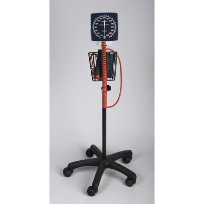 Medline Adult Mobile Aneroid Blood Pressure Monitor