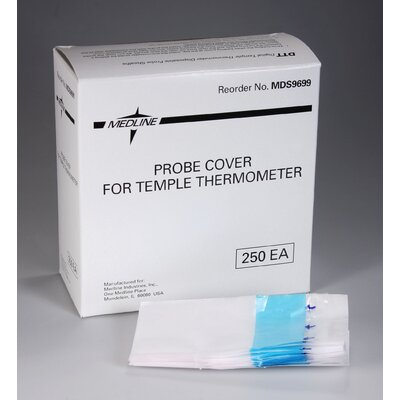 Medline Temple Thermometer Cover (Box of 250)