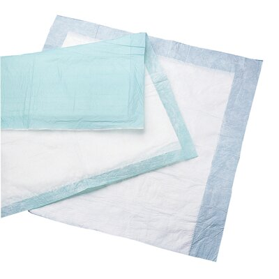Medline Disposable Under Pad with Tuckable Wing (Case of 75)