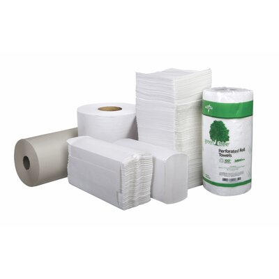 Medline Green Tree Basics Perforated Towel Paper