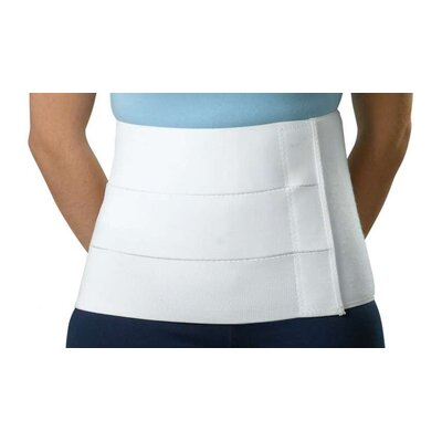 "Medline Premium 9"" Tri-Panel Abdominal Binder"