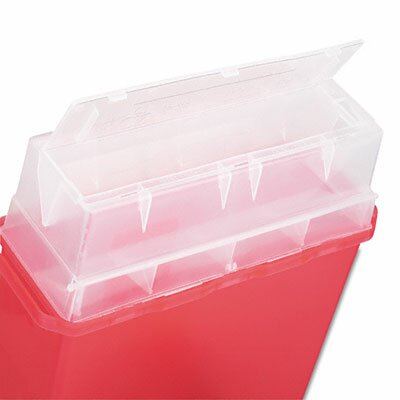 Medline Patient Room Sharps Container, 5 Quart
