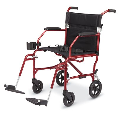 "Medline Freedom 19"" Ultra Lightweight Bariatric Wheelchair"