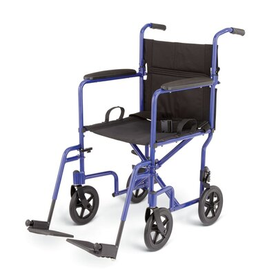 Aluminum Transport Chair with 8