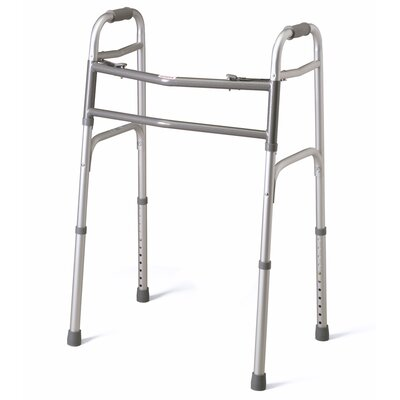 Bariatric Extra - Wide Two Button Folding Walker