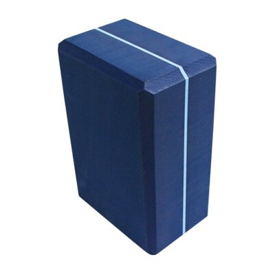 Yoga Direct Striped Foam Yoga Block