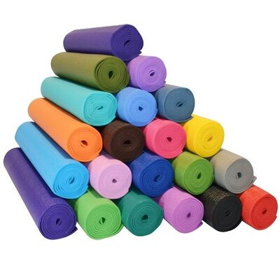 "<strong>Yoga Direct</strong> 1/4"" Deluxe Extra Thick Yoga Sticky Mat"