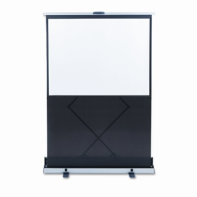 Quartet® Euro Portable Cinema Screen with Black Carrying Case, 48 x 36
