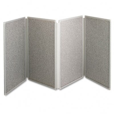 "Quartet® Tabletop Display Presentation 2' 6"" x 6' Bulletin Board"