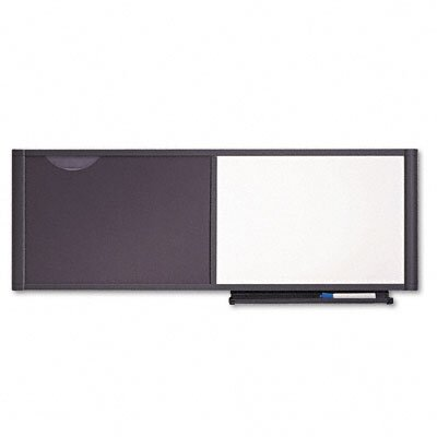 "Quartet® Bulletin/Dry Erase Board, 48"" Wide"