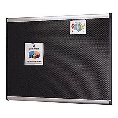 Quartet® Embossed Bulletin Board
