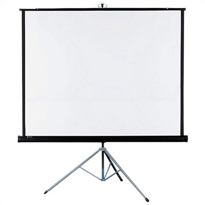 Quartet® Matte White: Portable Tripod Projection Screens