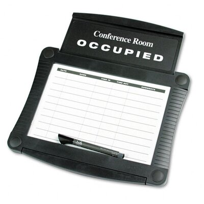 "Quartet® Dry-Erase Conference Room Scheduler 1' 2"" x  1' 4"" Whiteboard"
