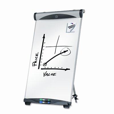 Quartet® Euro Magnetic Dry Erase Easel, 27 x 39, White
