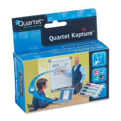 Quartet® Refill Cartridges, Low-Odor, 8/PK, Assorted