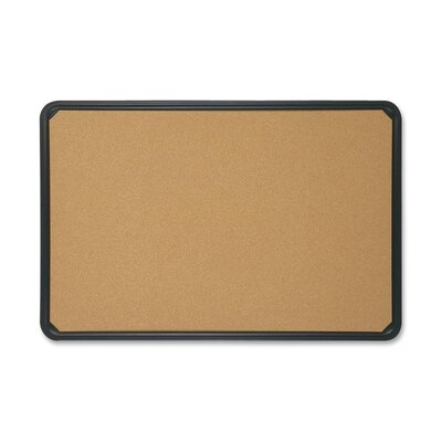Quartet® Bulletin Boards, w/ Plastic Frame, Natural Cork
