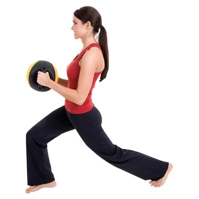 Eco Wise Fitness Dual - Grip Medicine Ball