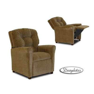 Four Button Fabric Kid's Recliner