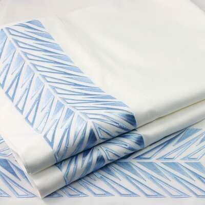 Plush Living Embroidered Sicily Sheet Set