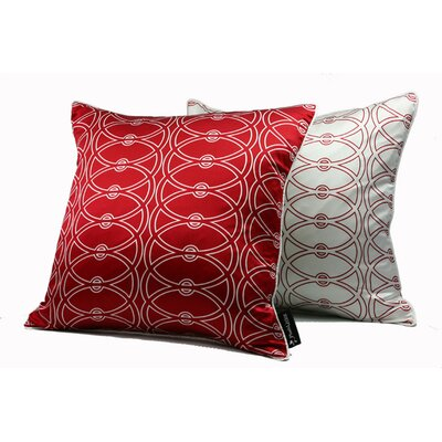 Plush Living Black Label Athena Silk Pillow