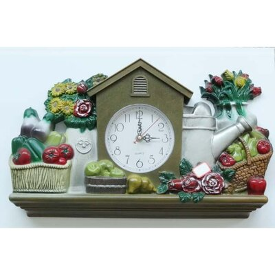 New Haven Gardening Wall Clock
