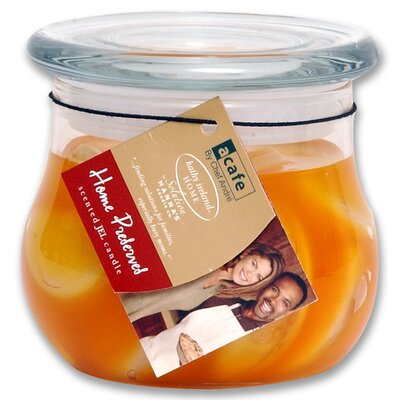 Acafe Peach Preserves Bulb Jel Candle (Set of 2)