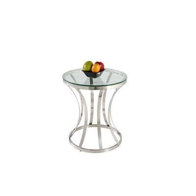 Double Ring End Table