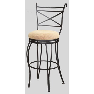 "Chintaly Imports 30"" Swivel Memory Return Bar Stool"