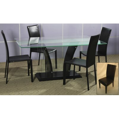 Chintaly Flair 5 Piece Dining Set