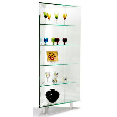 Chintaly Imports Corner Curio Cabinet