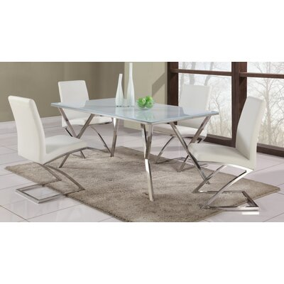 Chintaly Jade 5 Piece Dining Set