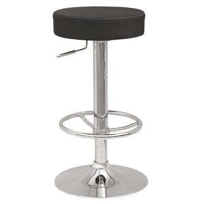 Chintaly Backless Adjustable Stool with Extra Slip Covers